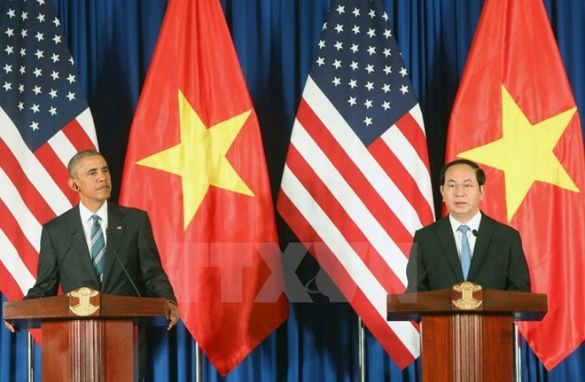 Vietnam, US commit to future outlook - ảnh 1