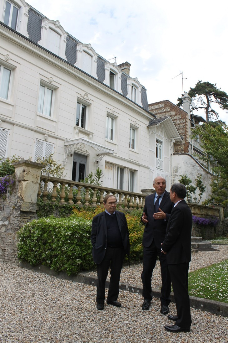 Traces of President Ho Chi Minh in France - ảnh 1