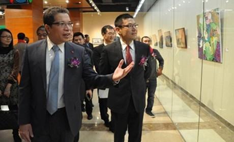 越南驻中国大使邓明魁对中国上海与浙江进行访问 - ảnh 1