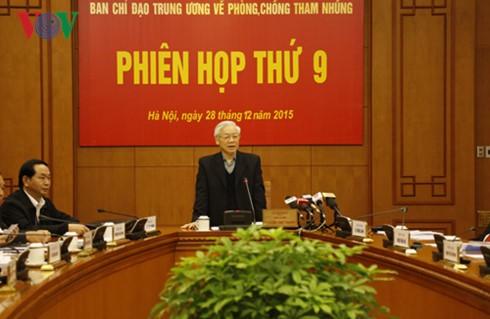 越共中央反腐败指导委员会常务委员会会议即将召开 - ảnh 1