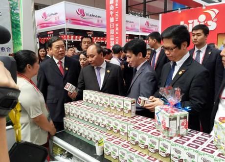 越南近140家企业参加第13届东盟-中国博览会 - ảnh 1