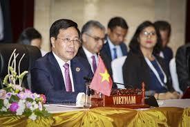 越南出席东盟-美国外交部长非正式会议 - ảnh 1