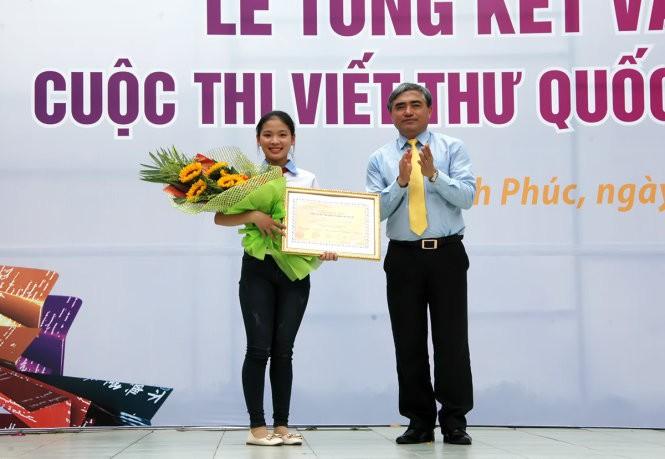 越南学生获得第45届国际少年书信写作比赛一等奖 - ảnh 1