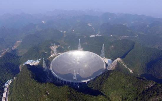 中国开始试运作世界最大口径射电望远镜 - ảnh 1