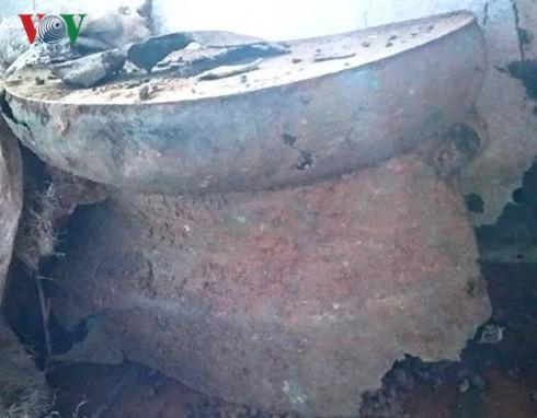 清化省发现古铜鼓 - ảnh 1