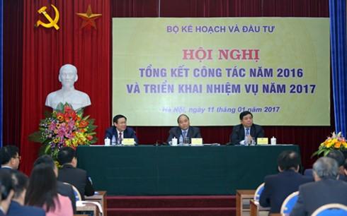 阮春福:计划投资部要成为整个经济体的主设计师 - ảnh 1