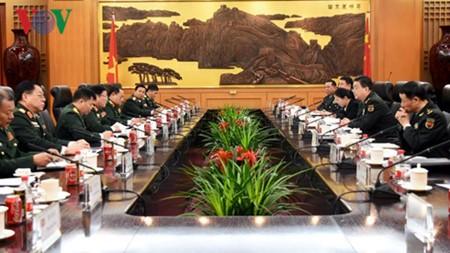 越中两国防长决心把两国关系提升至新高度 - ảnh 1