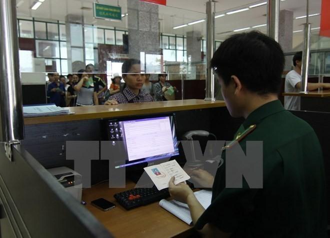从今年2月1日起越南对外国人入境试行签发电子签证 - ảnh 1