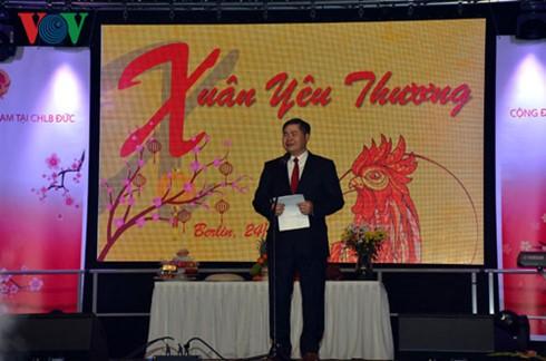 旅居德国越南人欢度丁酉春节 - ảnh 1