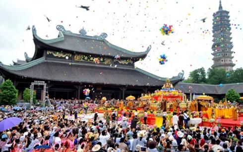 越南全国各地为2017年春节庙会做好准备 - ảnh 1
