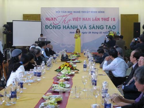 第15届越南诗歌日新意多 - ảnh 1
