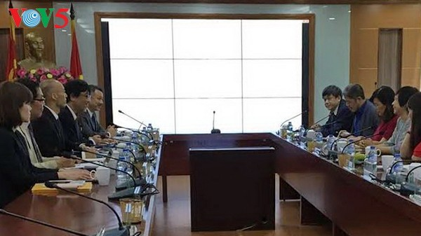 越南之声广播电台与日本关西电视台加强合作 - ảnh 1