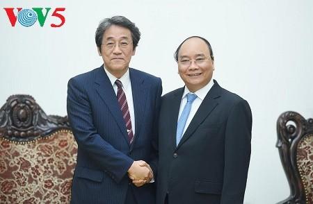 阮春福:越南一向重视加强与日本战略伙伴关系 - ảnh 1