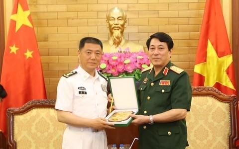 越南和中国海军加强合作 - ảnh 1