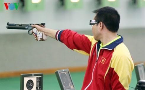 越南选手黄春荣在2017年东南亚射击锦标赛上打破纪录 - ảnh 1