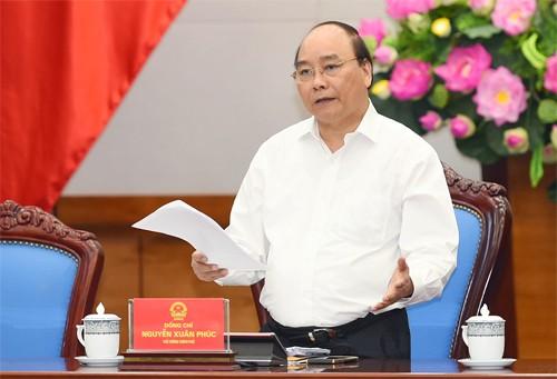 阮春福与越日大学领导人座谈 - ảnh 1