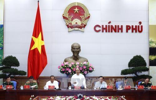 阮春福要求在新形势下保障治安秩序 - ảnh 1