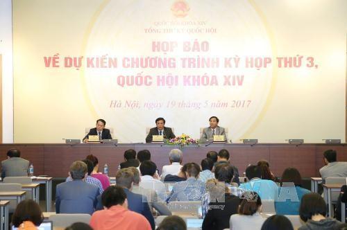 越南14届国会3次会议将于22日开幕 - ảnh 1