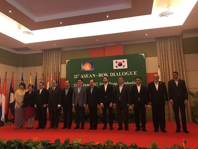 第21次东盟-韩国对话会举行 - ảnh 1