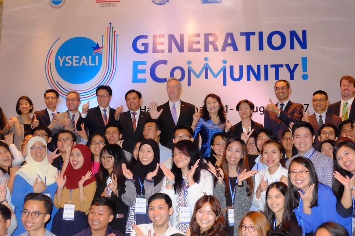 东南亚青年领袖倡议电子社区研讨会在越南举行 - ảnh 1