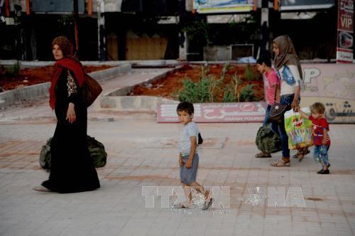 反恐问题:SDF宣布控制叙利亚拉卡老城区 - ảnh 1