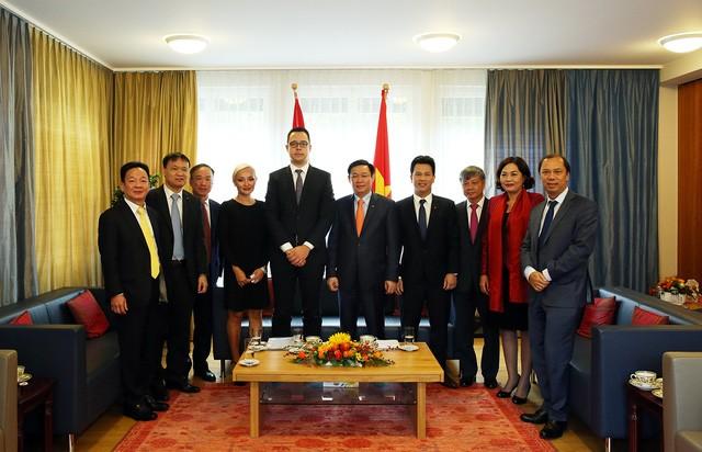 越南希望与瑞士在多个领域有效合作 - ảnh 1