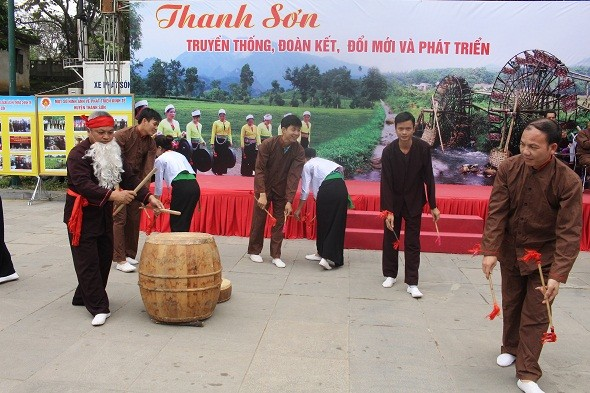 Phu Tho 성 Thanh Son현 Muong동포의 민족문화 정체성 보존 - ảnh 1