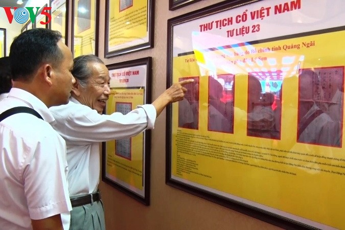 Exposition sur Hoang Sa et Truong Sa à Quang Binh - ảnh 1