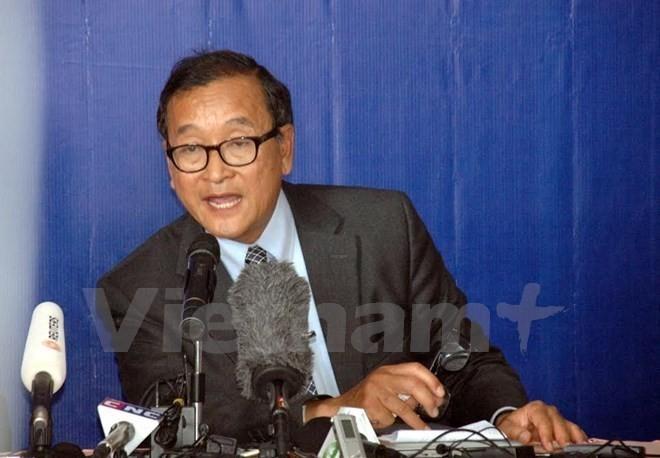 Cambodge: La cour d'appel maintient le verdict contre l'ancien chef du CNRP - ảnh 1