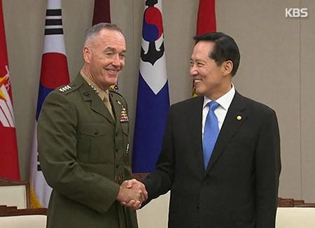 Rencontre américano-sud-coréenne sur fond de menaces balistiques de Pyongyang - ảnh 1