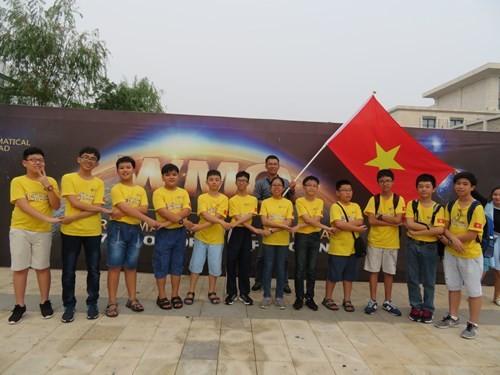 Vietnam : Neuf médailles aux Olympiades mondiales de mathématiques 2017 - ảnh 1