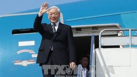 Le déplacement de Nguyen Phu Trong largement couvert par la presse indonésienne - ảnh 1