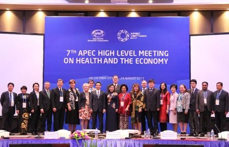 SOM3-APEC 2017: ouverture de la 7ème réunion de haut niveau sur la santé et l'économie - ảnh 1
