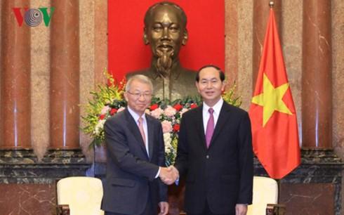 Tran Dai Quang reçoit l'ambassadeur cubain et le président de la cour suprême sud-coréen - ảnh 2