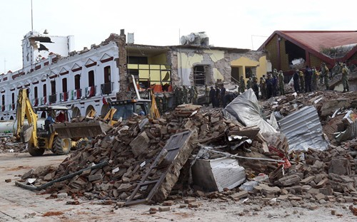 Séisme au Mexique: le bilan passe à 61 morts - ảnh 1