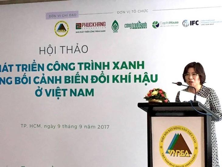 Ouvrages verts, une orientation pour le développement durable de la construction au Vietnam - ảnh 1