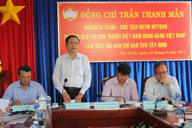 Intensifier le mouvement «Les Vietnamiens privilégient les marchandises vietnamiennes» - ảnh 1