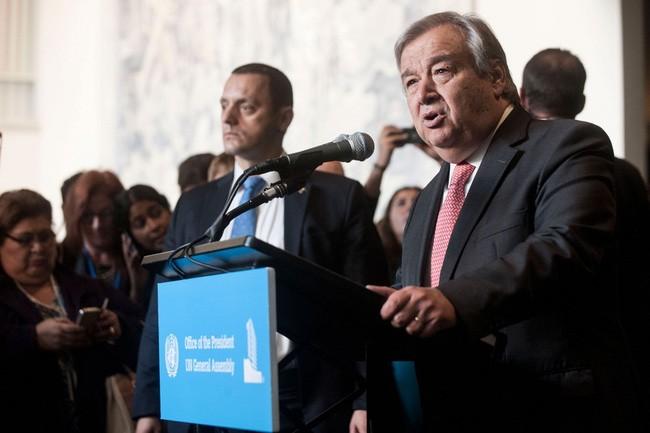 Antonio Guterres veut une résolution pacifique du dossier de Pyongyang - ảnh 1