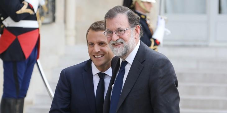 Catalogne: Macron dit à Rajoy son