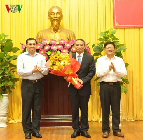 Truong Quang Nghia nommé secrétaire du comité du Parti pour la ville de Danang - ảnh 1