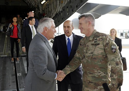 Rex Tillerson en visite surprise en Afghanistan - ảnh 1