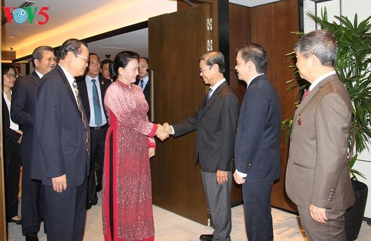 Activités de la présidente de l'AN Nguyên Thi Kim Ngân à Singapour - ảnh 4