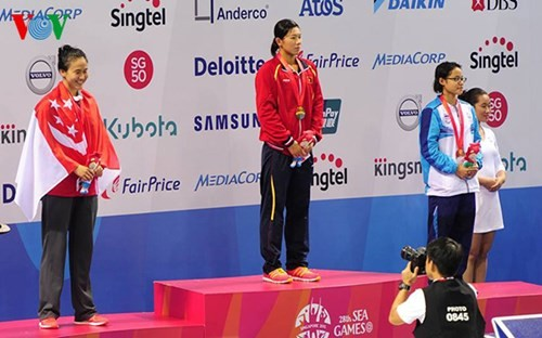 Сборная Вьетнама завоевала ещё 6 золотых медалей на Сигеймс-28 - ảnh 1