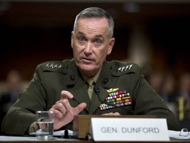 Глава Объединенного комитета начальников штабов США прибыл в Ирак с визитом - ảnh 1
