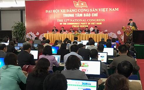 В Ханое прошла пресс-конференция, посвященная 12-му съезду Компартии Вьетнама - ảnh 1