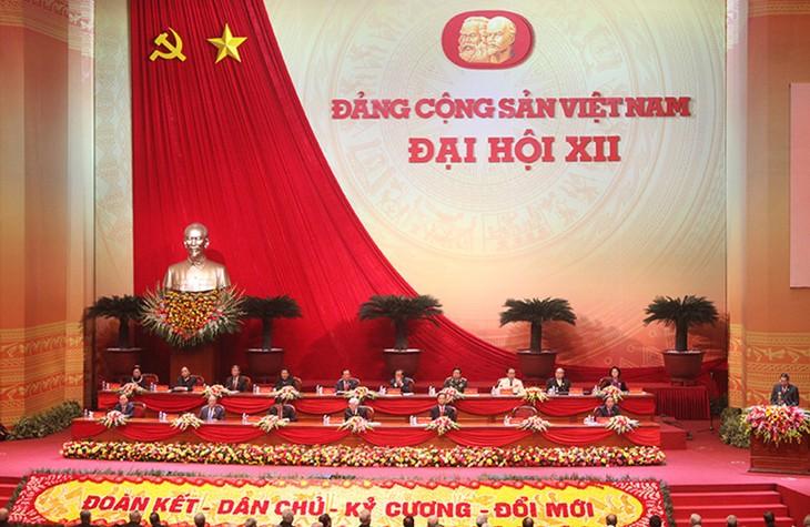 В Ханое официально открылся 12-й cъезд Коммунистической партии Вьетнама - ảnh 1
