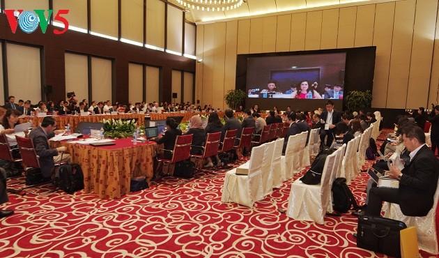 В Ханое продолжается работа 2-й конференции старших должностных лиц АТЭС - ảnh 1