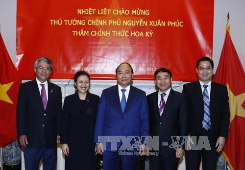 Премьер Вьетнама Нгуен Суан Фук завершил официальный визит в США - ảnh 1