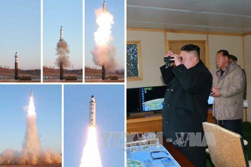 КНДР совершила 10-й пуск баллистической ракеты  - ảnh 1