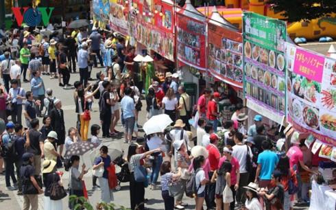 В Японии открылся 10-й фестиваль вьетнамской культуры - ảnh 1
